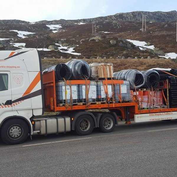 åpenjumbo trasnport i Norge